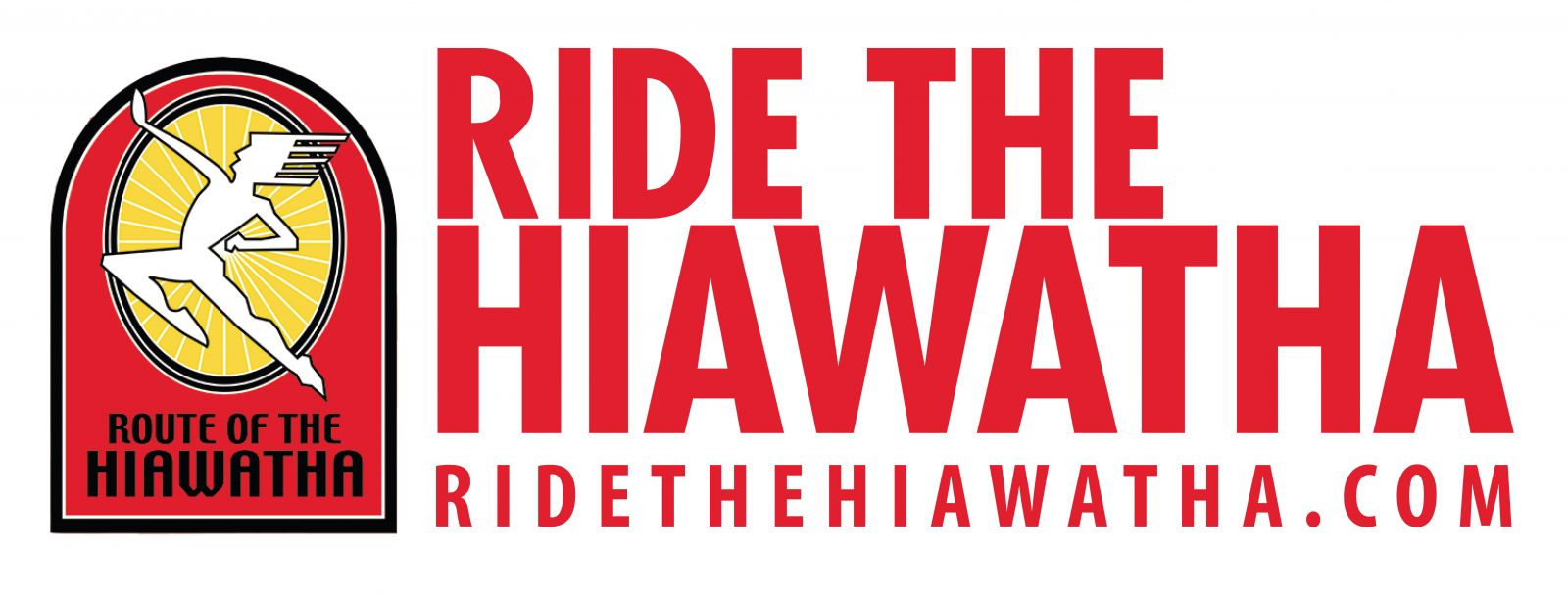 Ride the Hiawatha logo